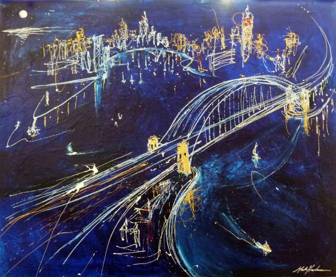 The amazing Surry Hills artist Mark Hanham!