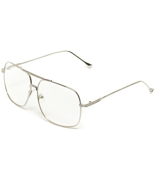 851e0ec0c1ab Men's Sunglasses, Oversized, 70's Style Clear Glasses Gold Frame Aviator  Style - Silver - C012O8RVE3V #sunglassesformen #glasses #designersunglasses  ...