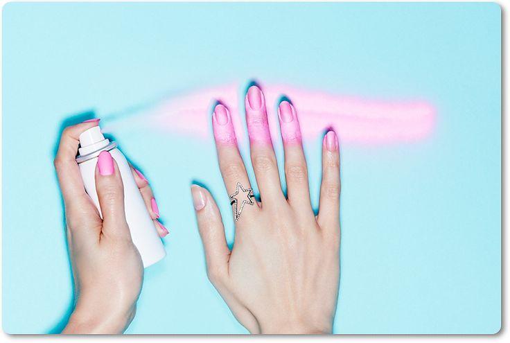 Konec trápení! Existuje lak na nehty ve spreji! | Lady Mushroom©