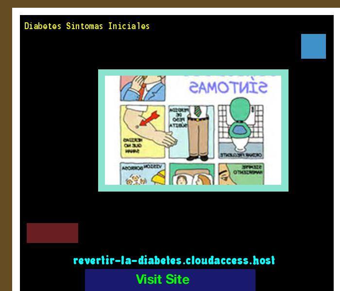 Diabetes Sintomas Iniciales 171643 - Aprenda como vencer la diabetes y recuperar su salud.