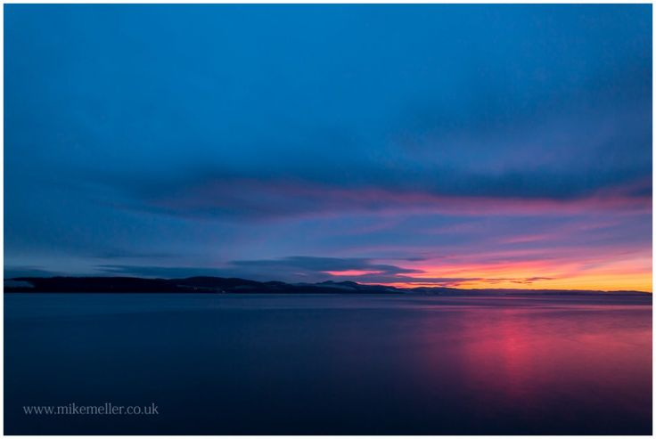 View over Kirkton at Firth of Tay in Dundee, SCOTLAND. Landscape Photography.