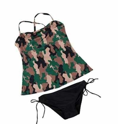 Longra Bikini de Camuflaje Ofertas especiales y promociones  Caracteristicas Del Producto: - Tenemos seis tamaño (S / M / L / XL / XXL / XXXL) - Usted