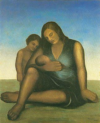 Tarsila do Amaral (Brazilian, 1886 -1973) - Maternity, 1938