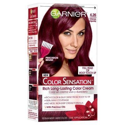 Garnier Color Sensation Hair Color Rich Long-Lasting Color Cream 4.26 Intense Burgundy