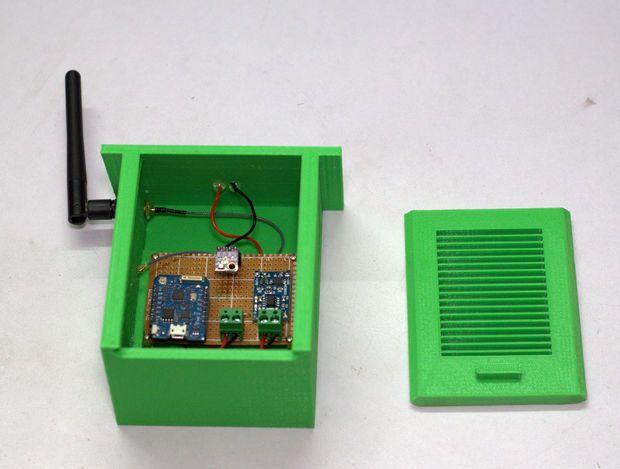 Solar Powered WiFi Weather Station V1 0   ESP8266