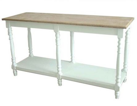 Washed Console Table - £240.00 - Hicks and Hicks