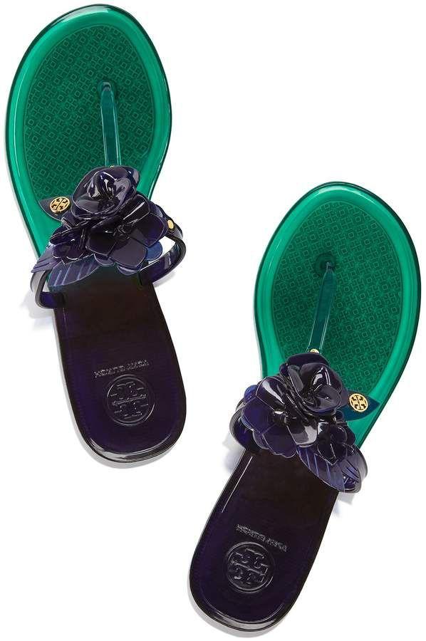 19c20e9f3 Tory Burch Blossom Jelly Thong Sandal Affiliate