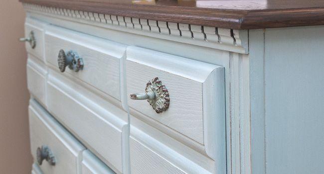 $27 Restore Dresser Make-Over using Bonding Agent instead of Primer.