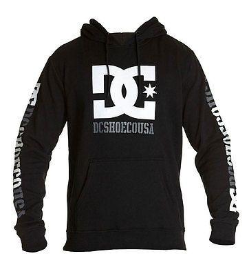 DC Shoes Men's Rob Dyrdek USA 2 Pullover Hoodie Black  Skate clothing sweater