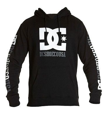 DC Shoes Men's Rob Dyrdek USA 2 Pullover Hoodie Black  Skate clothing sweater