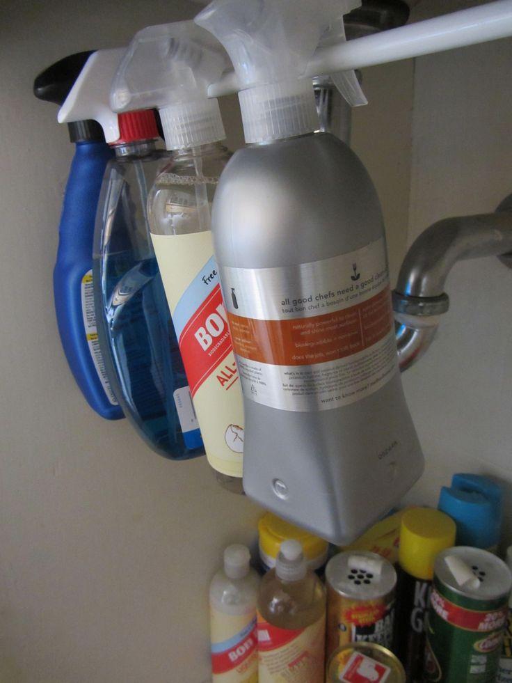 Under-Sink Storage Rod