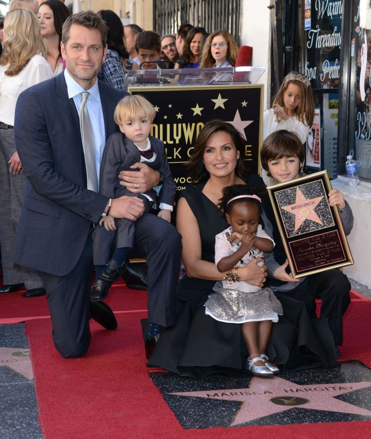 Mariska Hargitay and Her Family | Mariska Hargitay gets a ...