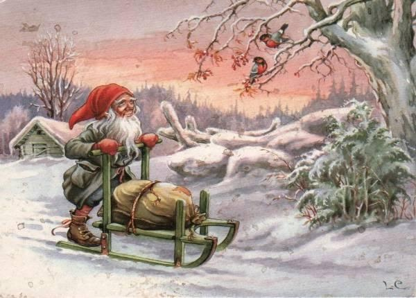Gnome sleighing