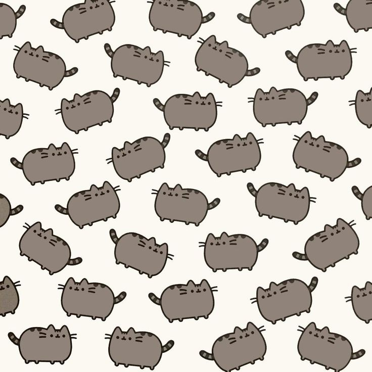Pusheen Gift Wrap - Ideal for that Pusheen gift, crazy cat lady or other exceedingly cute gift. We don't recommend you try wrapping an actual cat in it though.