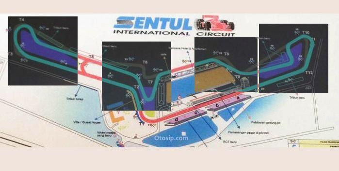 Gambar Desain Renovasi Sirkuit Sentul untuk MotoGP 2017