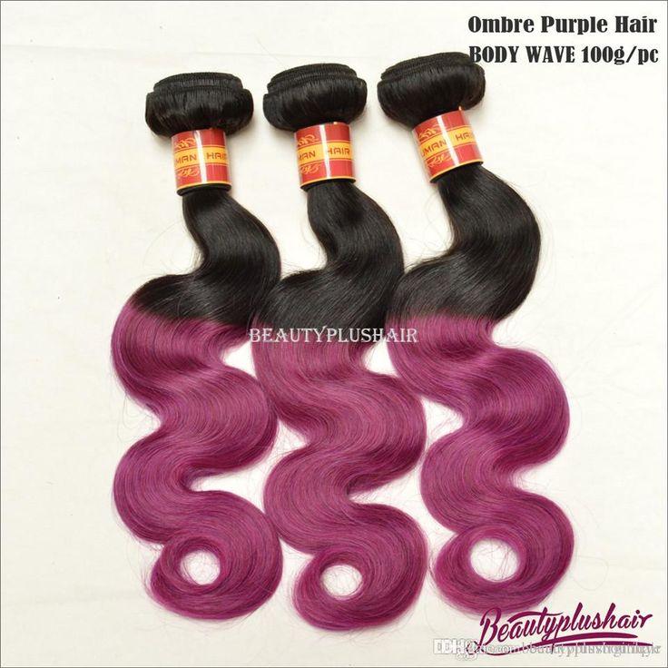300g New Ombre Brazilian Hair Extensions Body Wave 8a Brazilian Hair Weave Bundles Black & Purple 1b/Purple Hair Dhl Good Cheap Hair Weave Black Hair Weave From Beautyplusboutiqye, $117.21  Dhgate.Com