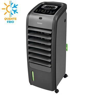 Climatizador de Ar Consul Com Aletas Automáticas Quente e Frio Titânio - C1R07AT