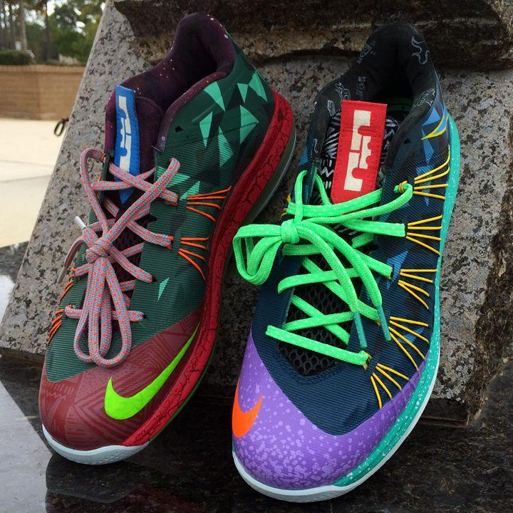 nike lebron 10 low what the mvp 02 Nike LeBron 10 Low What The MVP by · Basketball  ShoesNike ...
