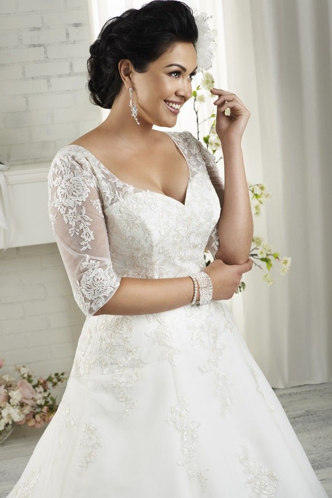 15 best Wedding Gowns With Sleeves images on Pinterest Marriage