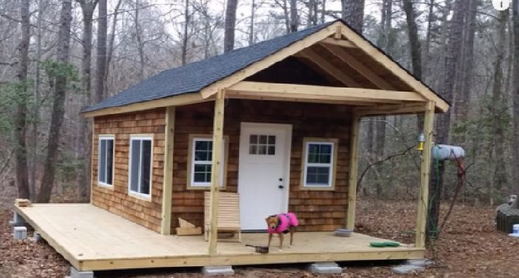 Always wanted your own little slice of paradise? Check out this great tiny cabin in the woods as this intrepid family builds it up from scratch.