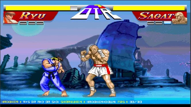 Play street fighter game online free