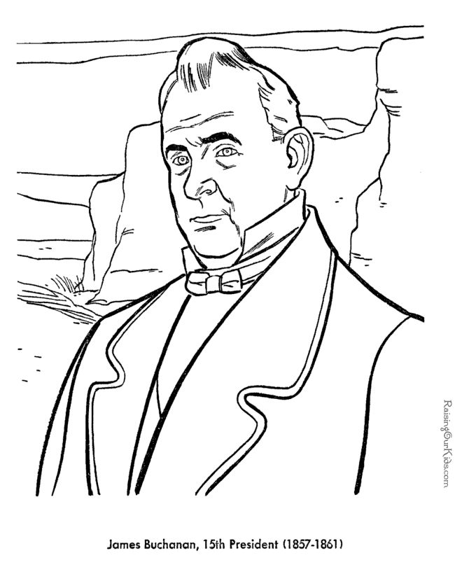 Nice Coloring Pages Of Presidents 27 Free printable President James