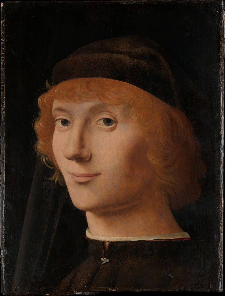 Antonello da Messina (Antonello di Giovanni d'Antonio) | Portrait of a Young Man | The Metropolitan Museum of Art