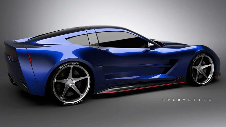 Supervettes SV8.R Chevrolet Corvette C6 custom body kit
