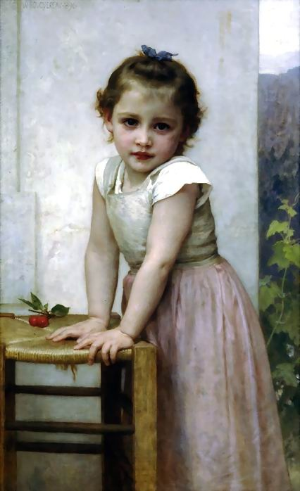 William Bouguereau - Yvonne