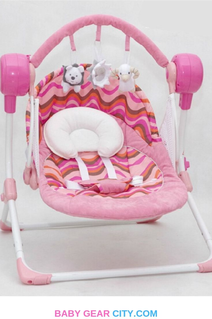 Electric Baby Swing Music Rocking Chair Automatic Cradle With
