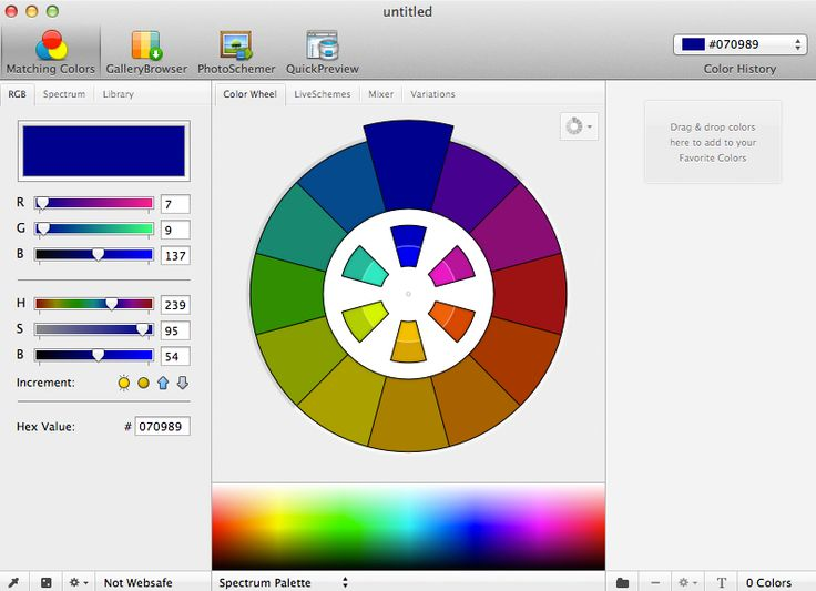 Love my new app - Color Schemer!