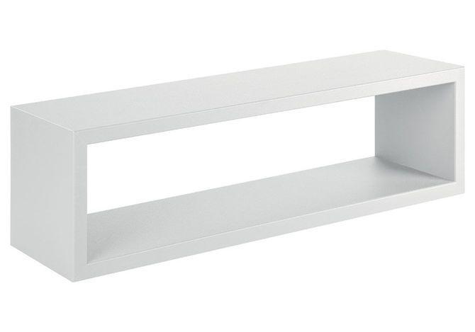 REGALO półka wisząca biała