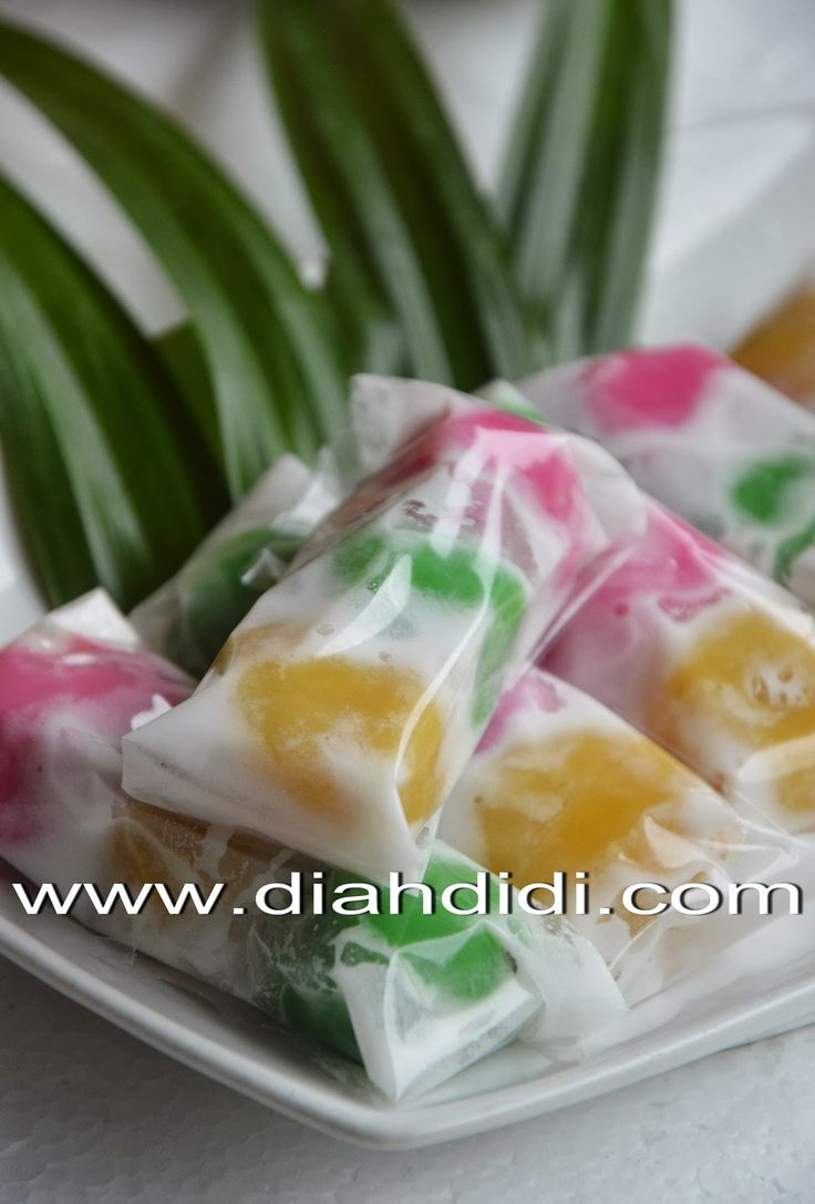 Diah Didi's Kitchen: Kue Mendut Warna Warni