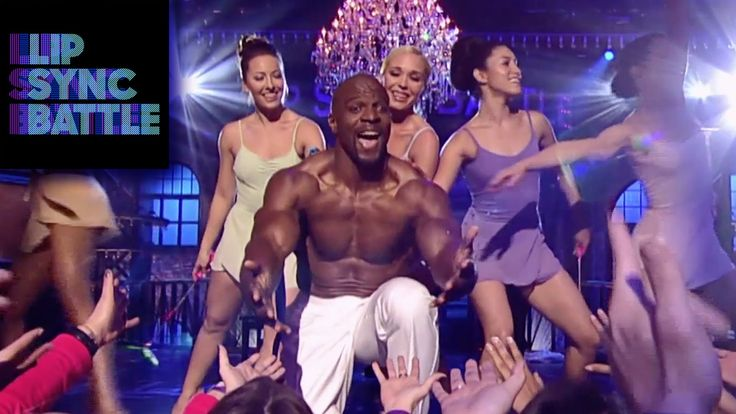 ROFL  tooooo funny ....love this show Terry Crews' A Thousand Miles vs. Mike Tyson's Push It | Lip Sync Battle