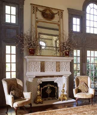 Stone fireplaces and Fireplace surrounds