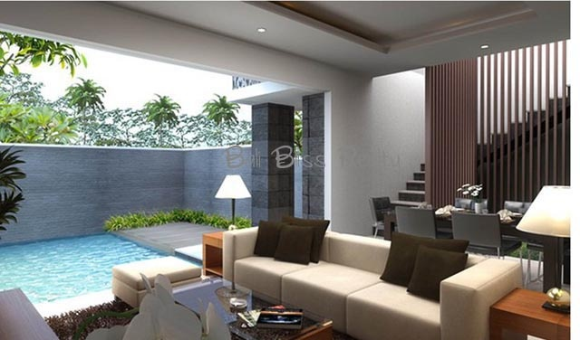 Contemporary Townhouse in Canggu