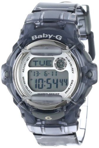 2. Casio Women's BG169R-8 Baby-G Gray Whale Digital Sport Watch