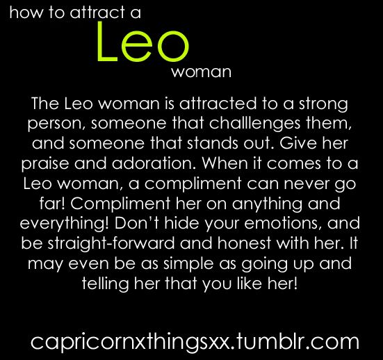 How to make leo woman fall in love
