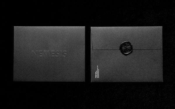Nemesis Films designed by Anagrama