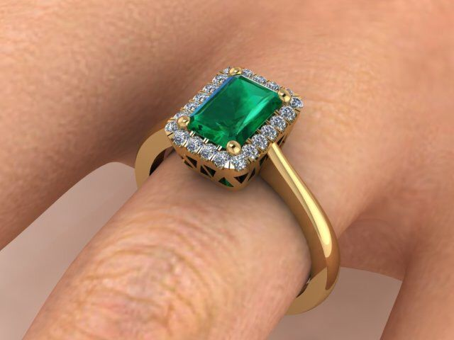 Engagement Rings, Diamond Wedding Ring, Natural Emerald and Diamonds Engagement Ring, Yellow Gold Custom Handmade Ring For Her by BridalRings on Etsy https://www.etsy.com/listing/242528739/engagement-rings-diamond-wedding-ring