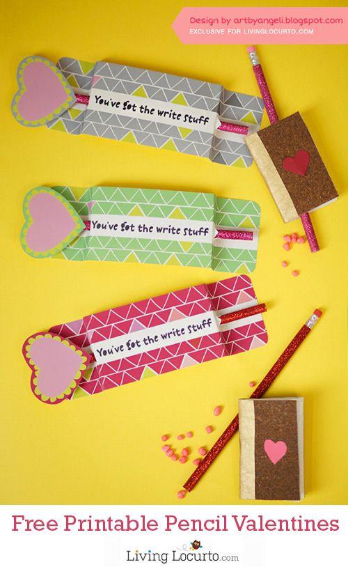 Pencil Holder Valentines
