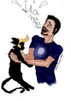 What make laugh Tony Stark by Nadia-AsViv