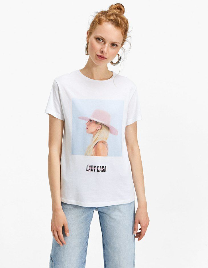 En Stradivarius encontrarás 1 Camiseta Lady Gaga por sólo
