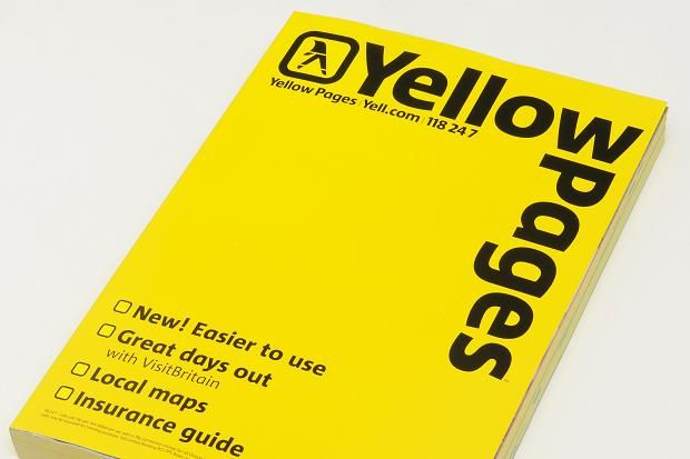 yellow pages of course