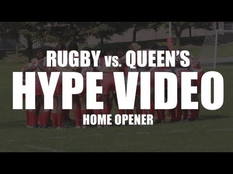 York Lions | Rugby vs. Queen's Gaels - Home opener HYPE video