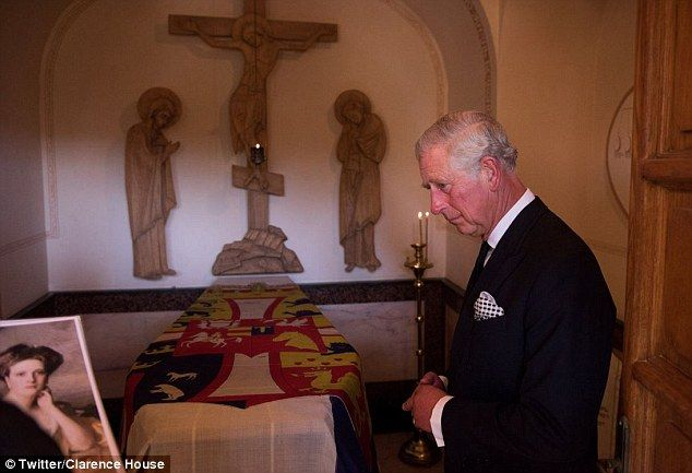 a visit to grandmother house Clarence house then released its own pictures of the visit: the prince of wales paid a private visit to the grave of his grandmother, princess alice.