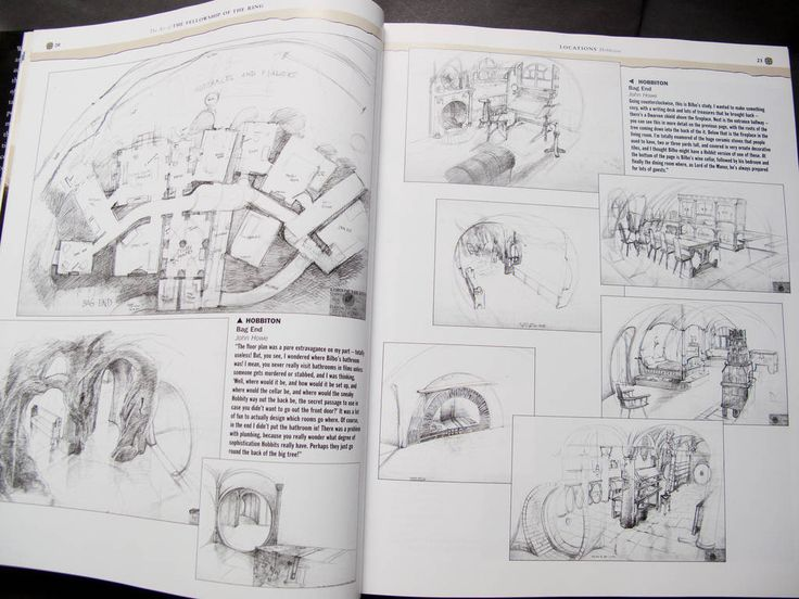 83 best hobbit houses hobbiton movie set images on for Hobbit house drawings