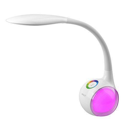 Oferta: 21.99€ Dto: -69%. Comprar Ofertas de WILIT® HZ T3 5W Lámpara LED de mesa con luz regulable con brazo tipo cuello de cisne, con panel táctil para la luz de color y barato. ¡Mira las ofertas!