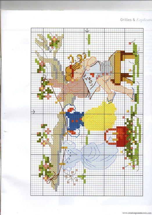 Gallery.ru / Photo # 40 - Création Point de Croix N ° 37 Mars / Avril 2014 - le NINULYKA