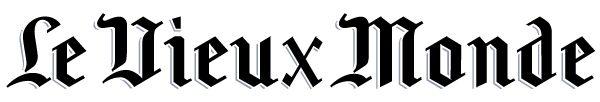 Le Vieux Monde. Logo du journal de la Ligue française de Blood Bowl.